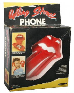 Rolling Stones phone - now this is a MUST HAVE!