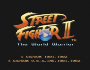 Streetfighter II on SNES