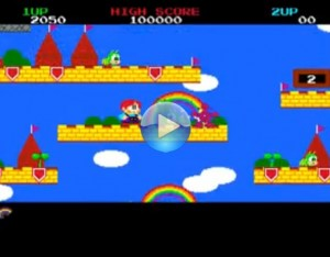 Rainbow Islands on Amiga