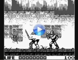 Teenage Mutant Ninja Turtles on GameBoy