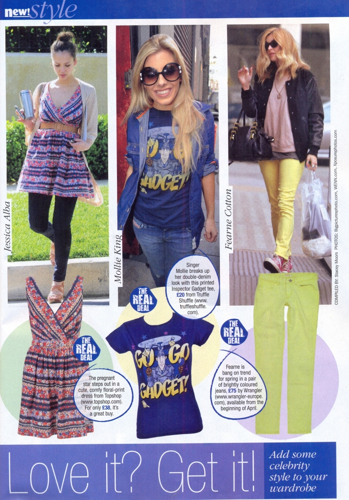 Mollie King's Go Go Gadget T Shirt