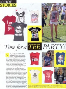 Mickey Mouse and Clueless tees from Truffle Shuffle in Grazia