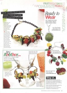 Disney Couture Snow White Red Crystal Apple Ring in Making Jewellery Magazine July '11