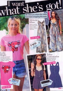 Lydia Bright 'Laughing Cow' T-Shirt Get The Look in Reveal 21.06.11