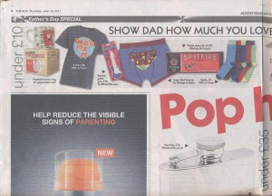 Electric Guitar Pen in The Sun 16.06.11