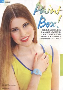 Classic Casio Watch in Mizz magazine 23.06.11