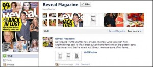 TruffleShuffle.com on Reveal Magazine's Facebook