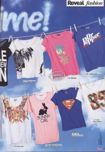 TruffleShuffle.com T-Shirts in Reveal Magazine 12th July 2011