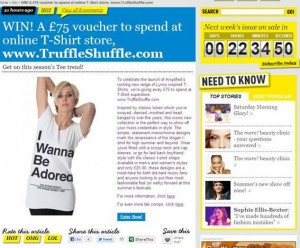 Win a £75 TruffleShuffle.com shopping voucher at Moremagazine.co.uk