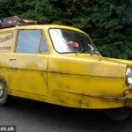 Ricky Hatton's 'Del Boy' Reliant Regal