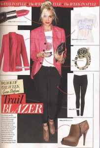 Gwen Stefani 'Get The Look' in More! magazine 06.Sept.11