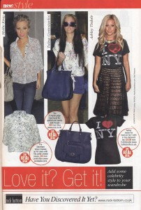 Ashley Tisdale 'Get The Look' in New! Magazine 20.Sept.11