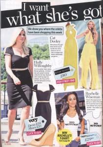 Rochelle Wiseman 'Get The Look' in Reveal 30.August.11