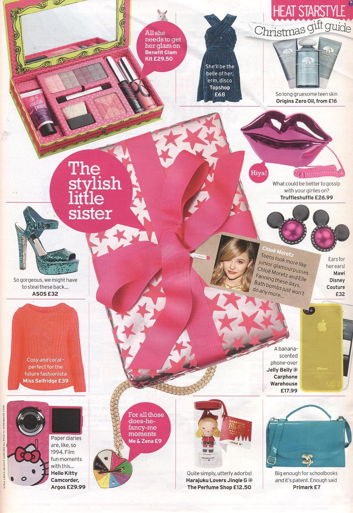 Heat Magazine 2011 Christmas Gift Guide 29.11.2011