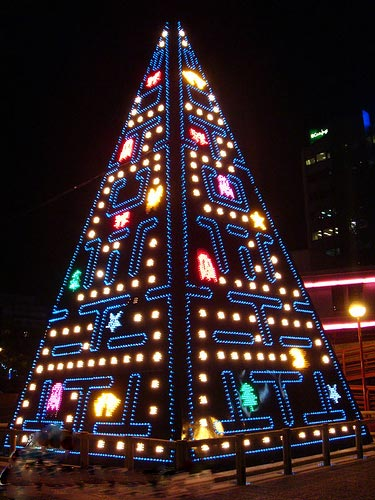 Pac Man Christmas