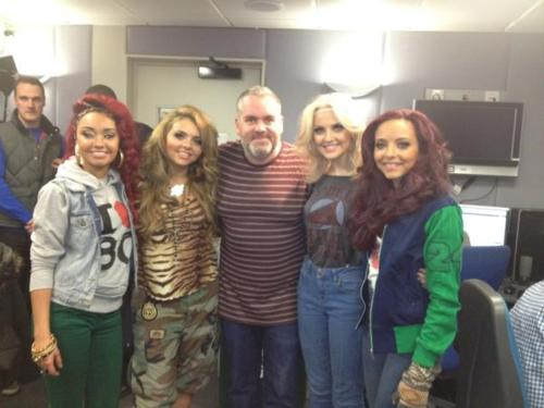 Perry from Little Mix wearing our Rydell High Sweater from TruffleShuffle