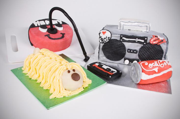 Retro baking 80's cakes nostalgia cakes