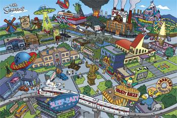 Скачать Карту Для Minecraft Спрингфилд - фото 11