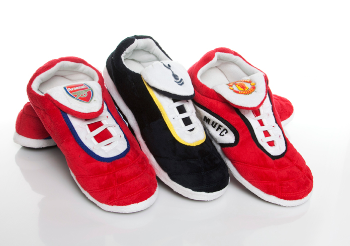 Novelty football slippers fathers day gift ideas