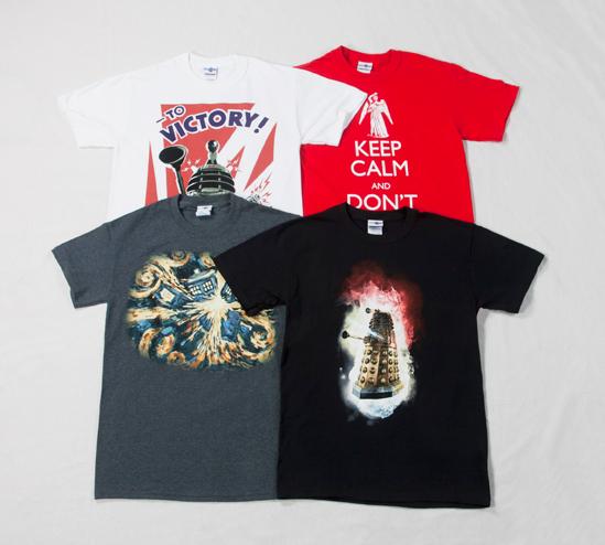 Doctor Who T-Shirts www.truffleshuffle.co.uk