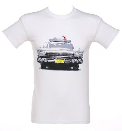 Mens Ecto 1 Ghostbusters T-Shirt from Fame and Fortune