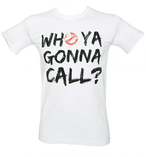 Men Who Ya Gonna Call Ghostbusters T-Shirt from Fame and Fortune