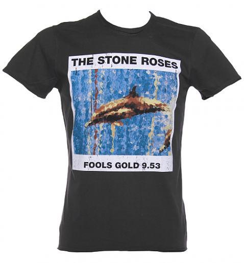 Men's Charcoal Stone Roses Fools Gold T-Shirt £25.00