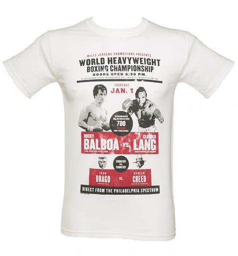 Men's Rocky Balboa vs Clubber Lang T-Shirt from TruffleShuffle