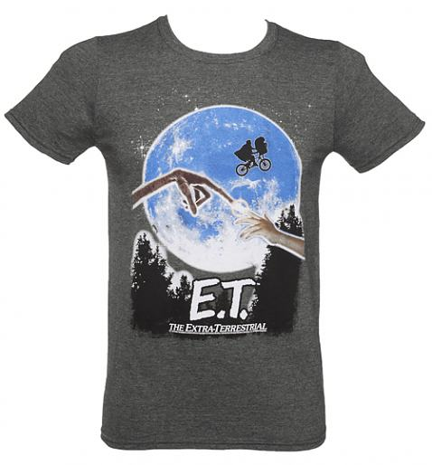Men's Dark Heather E.T. The Extra-Terrestrial T-Shirt £19.99 (also available for ladies)