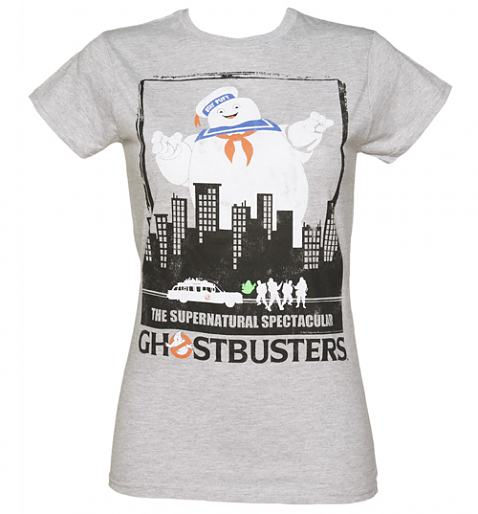 Ladies Ghostbusters Supernatural Spectacular T-Shirt £19.99 (also available for men!)
