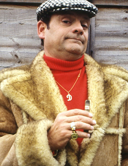 Del Boy Sheepskin Coat