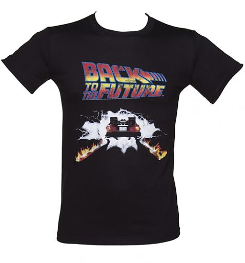 Men's Back To The Future Delorean Firetracks T-Shirt £19.99 (also available for ladies!)