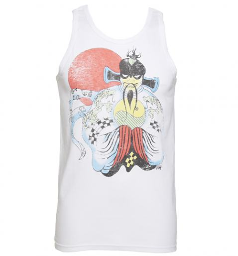 Men's White Big Trouble In Little China Vest £22.99