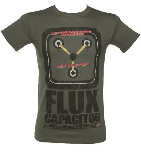 Men's Flux Capacitor Back To The Future Glow In The Dark T-Shirt £21.99 (also available for ladies!)