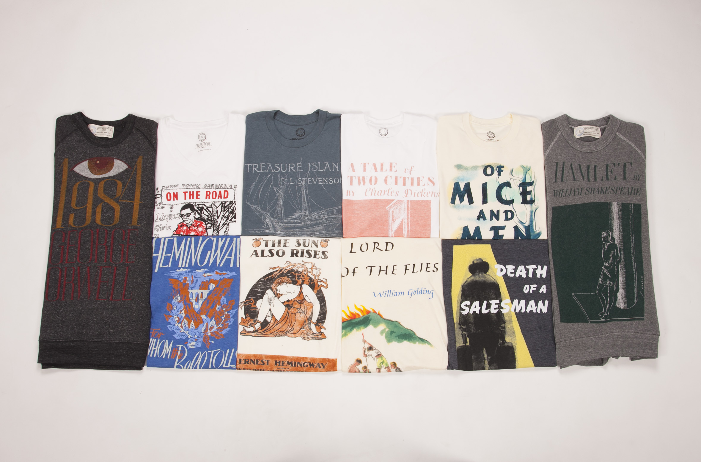 Literary the best book tees around for Books printed on t shirts