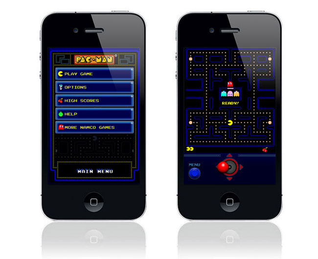 Pac-Man on a Smartphone