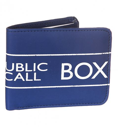 Boxed Doctor Who Tardis PU Wallet £13.99