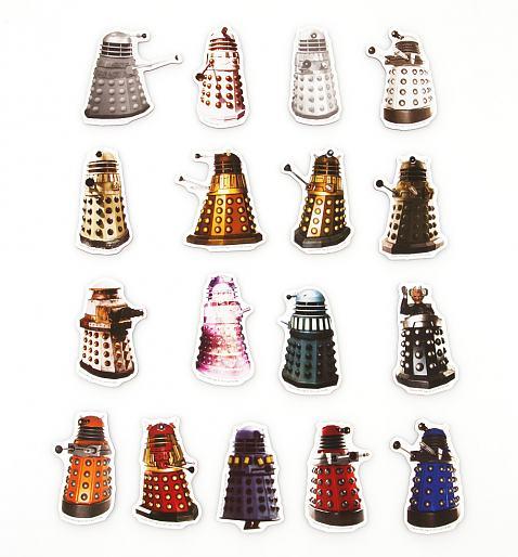 Doctor Who Daleks Magnet Set £6.99