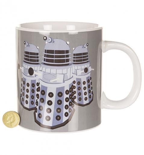 Doctor Who GIANT Daleks Exterminate Mug £11.99