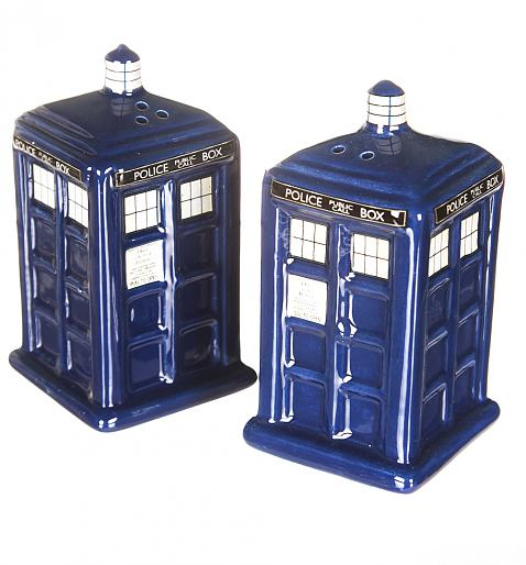 Doctor Who Tardis Salt And Pepper Shakers £14.99
