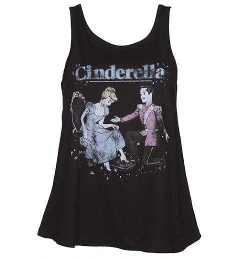 Ladies Cinderella Swing Vest £19.99 (also available as a t-shirt!)