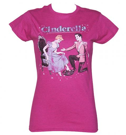 Ladies Cinderella T-Shirt £19.99