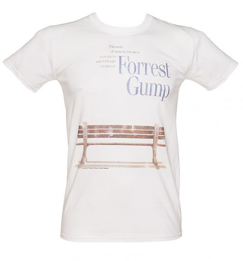 **COMING SOON**  Men's Forrest Gump Bench T-Shirt £19.99 (also available for ladies)