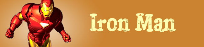 Fathers Day - Iron Man Banner