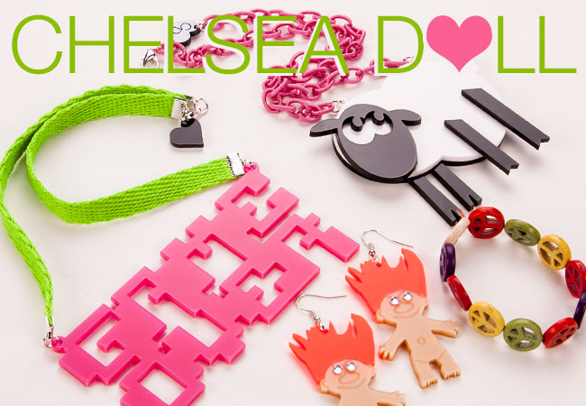 Brand New Chelsea Doll Jewellery