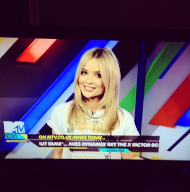 Laura Whitmore Wears Our Ladies Old School Video Tapes Collection Rolled Sleeve Boyfriend T-Shirt £19.99