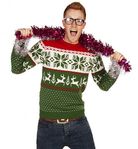 silly christmas jumpers