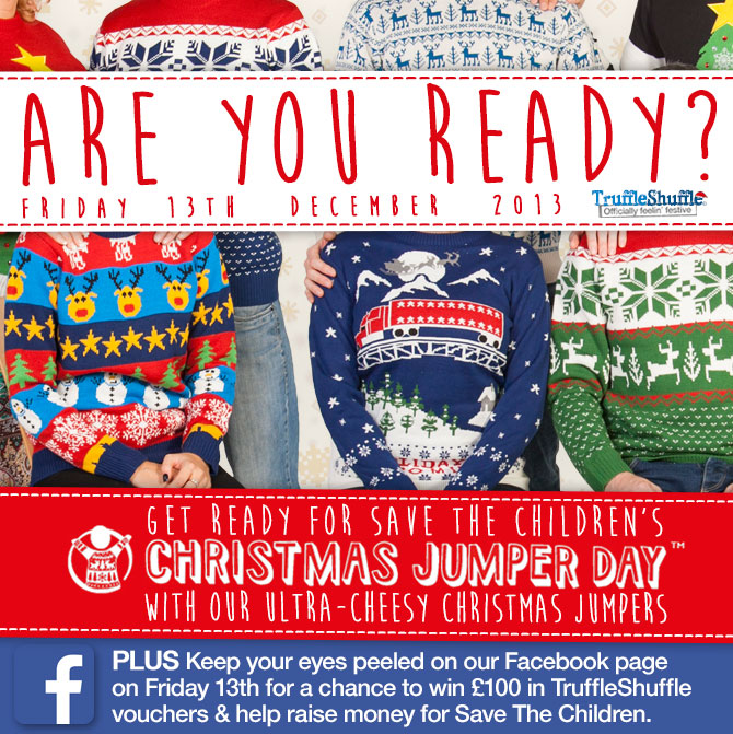 Coming Soon: Christmas Jumper Day Competition! – TruffleShuffle.com Official Blog