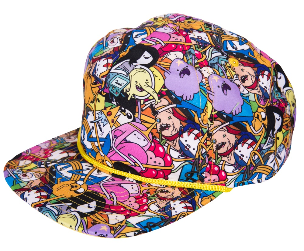 Adventure Time All Over Print Snap Back Baseball Cap