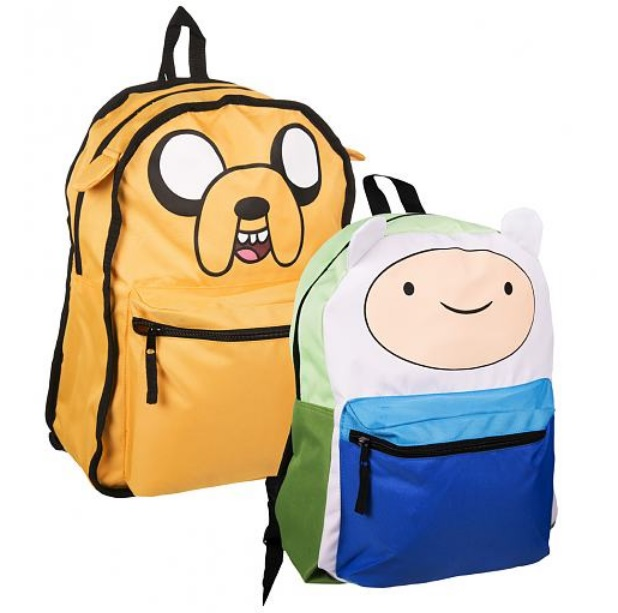 Adventure Time Jake And Finn Reversable Backpack